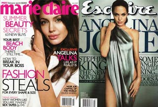 Illustration for article titled Angelina Jolie: A Woman For All Seasons (And Sexes)