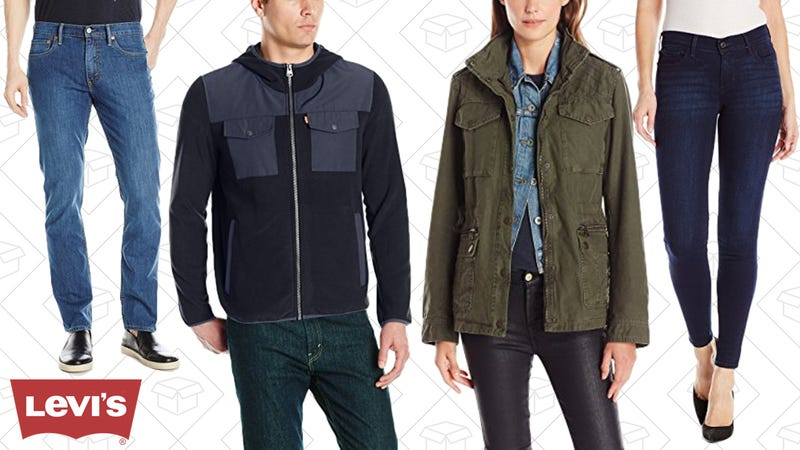 Up to 50% Levi's Jeans & More