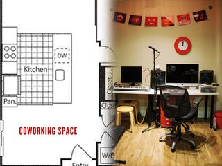 Illustration for article titled How to Create a Home Coworking Space on the Cheap