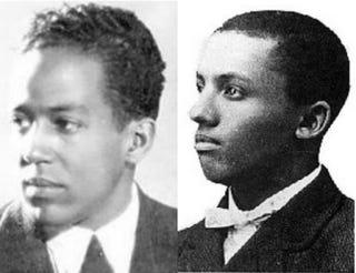 Langston Hughes; Carter WoodsonWikimedia Commons