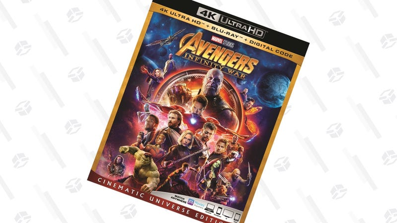 Avengers: Infinity War (Cinematic Universe Edition) (4K) | $25 | Walmart
