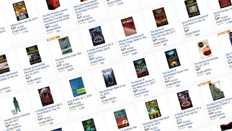 Sci-Fi and Fantasy Kindle Sale | Amazon