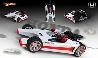 Illustration for article titled Honda Racer Hot Wheels Toy Is Whacky, Real Whacky