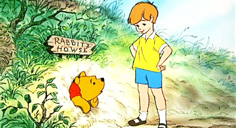 Illustration for article titled The Live-Action Winnie the Pooh Film Sounds Like Steven Spielberg's Hook