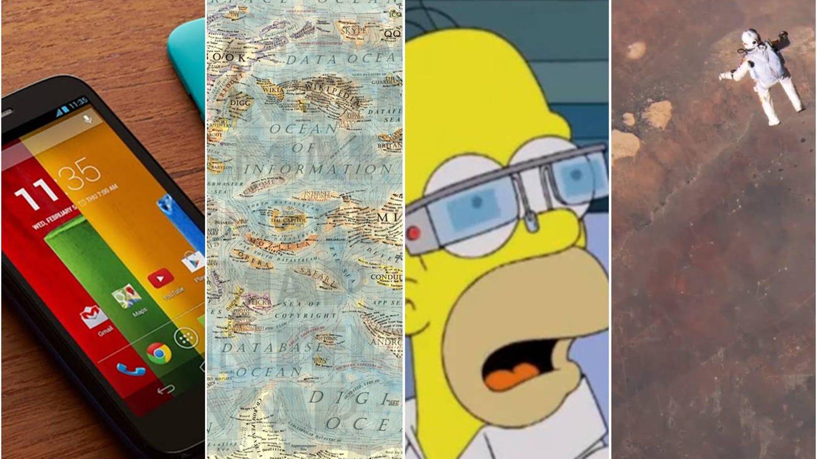 Motorola, transatlánticos, Homer y el boli Bic, lo mejor de la semana