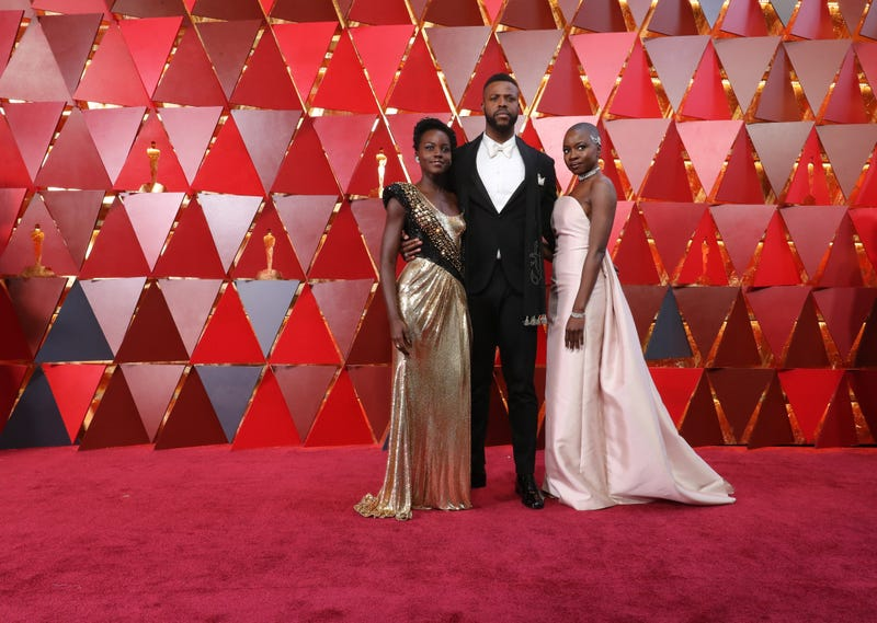 Lupita Nyong'o, Winston Duke and Danai Gurira dazzle at the 90th Academy Awards ceremony.