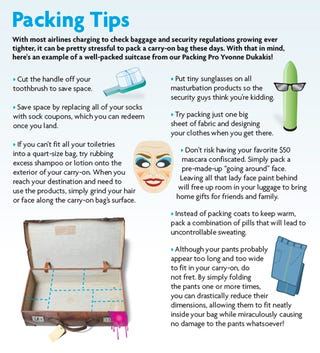 Illustration for article titled Packing Tips