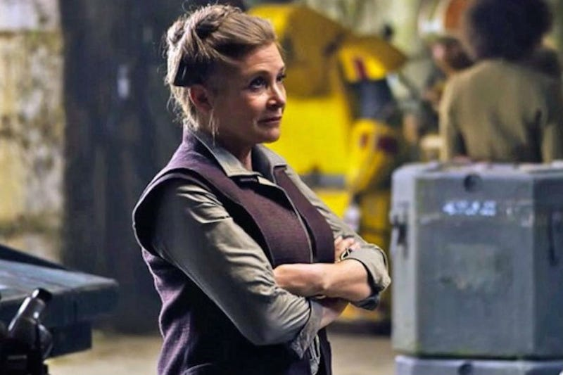 Illustration for article titled Carrie Fisher Is Now in 'Stable Condition'