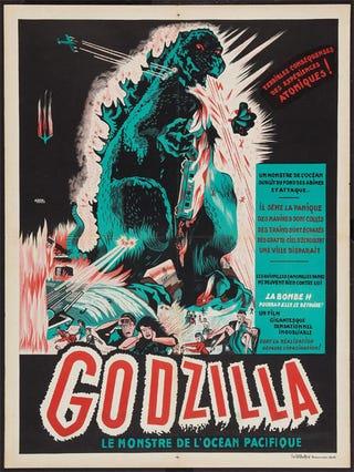 Illustration for article titled Le Godzilla