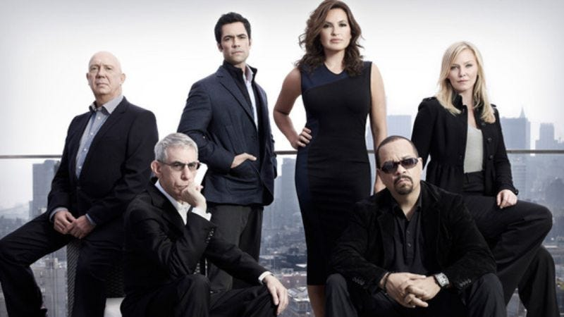 Illustration for article titled NBC buys fourteenth season of Law And Order: SVU, gets new Dick Wolf procedural