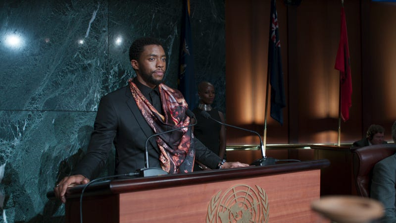 Illustration for article titled Black Panther will be one of the first films screened in Saudi Arabia after 35-year ban