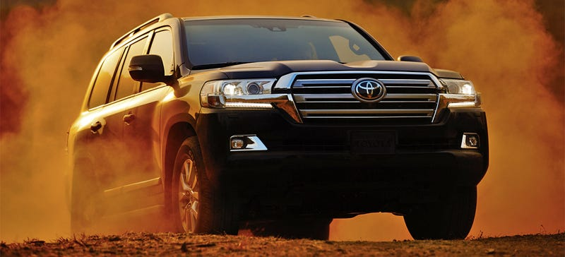 Illustration for article titled The New Land Cruiser Has Toyota's First 8-Speed And More Off-Road Tech