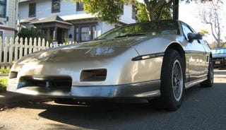 Illustration for article titled 1986 Pontiac Fiero GT