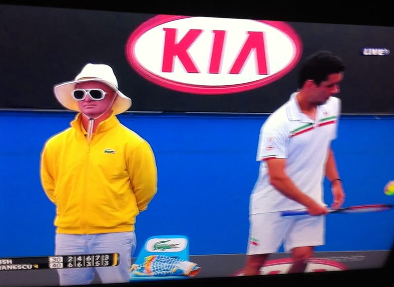 Illustration for article titled Nice Of The Australian Open To Hire An Albino As Line Judge