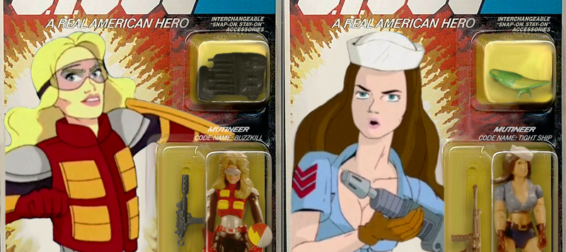 Illustration for article titled The Community G.I. Joe Action Figures In Packaging