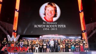 "Watch WWE's Salute To ""Rowdy"" Roddy Piper"