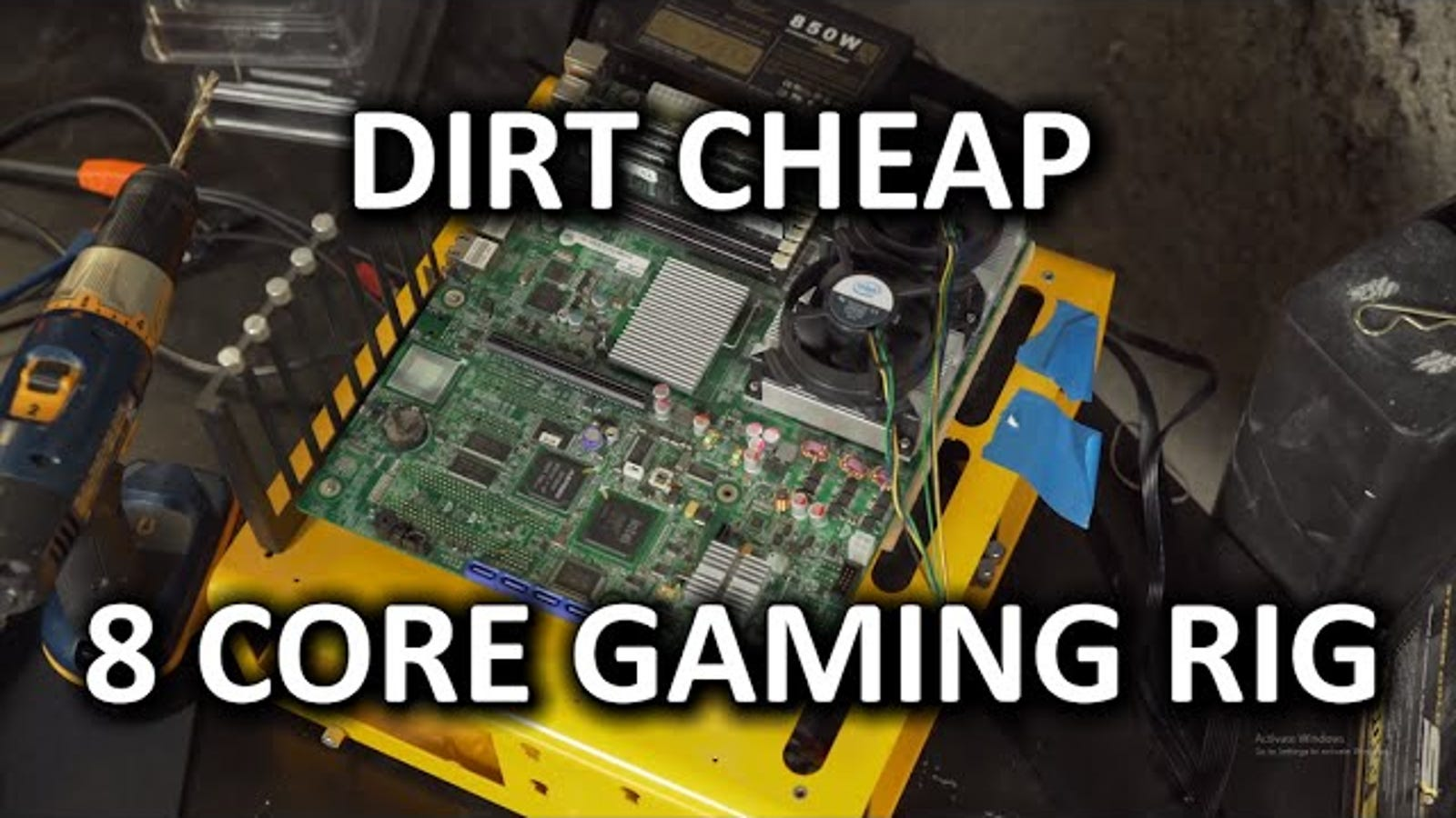 Build a Super Cheap Gaming PC with Old Server Parts