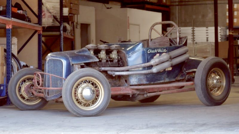Illustration for article titled 1922 Ford Dirt Track Car