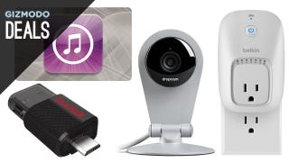 Illustration for article titled Deals: Dropcam Dropped Price, Every Kind of SanDisk Storage, WeMo
