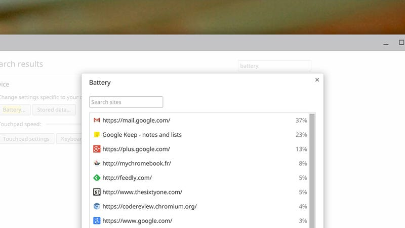 Illustration for article titled Which Apps Are Running Down Your Chromebook's Battery?