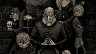 Illustration for article titled They're scheming, royal, and altogether spoiled: The Lannisters as the Addams Family