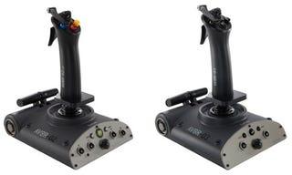 Illustration for article titled Saitek Aviator Flight Sticks: Joysticks for Your Xbox 360 or PS3
