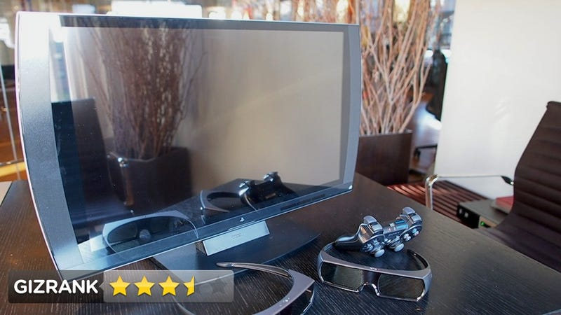Illustration for article titled Sony PlayStation 3D Display Lightning Review: The Perfect Small TV for the Rich Gamers