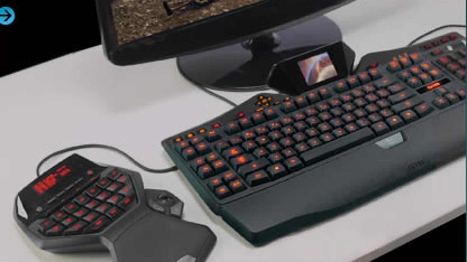 Logitech G18 Gaming Keyboard Rocks Your Face With Full-Blown