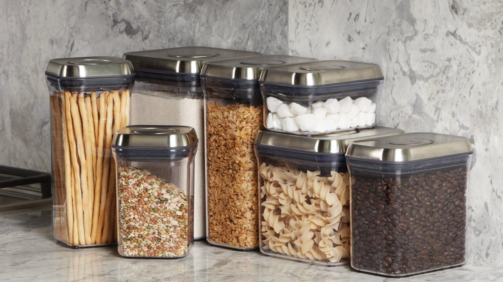 You Won T Want To Hide Oxo S Pop Containers In The Pantry