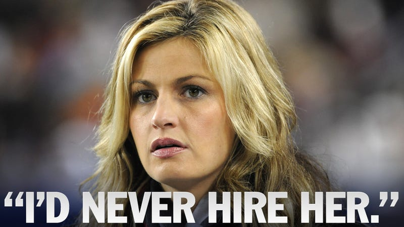 Illustration for article titled Erin Andrews's Contract Is About To Expire, And No One Wants To Hire Her Away From ESPN