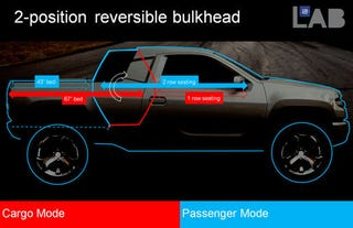 Illustration for article titled Bare Necessity Truck Concept Helps GM Forget Worries And Strife