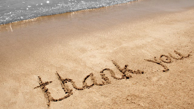 """Saying """"Thank You"""" When You Really, Really Mean It"""