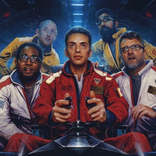 Illustration for article titled Logic's New Album Features Steve Blum, is Fantastic
