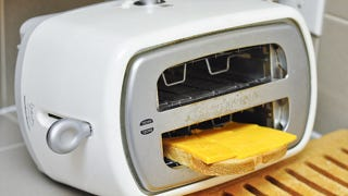 Illustration for article titled Flip Your Toaster On Its Side to Make Easy Grilled Cheese Sandwiches
