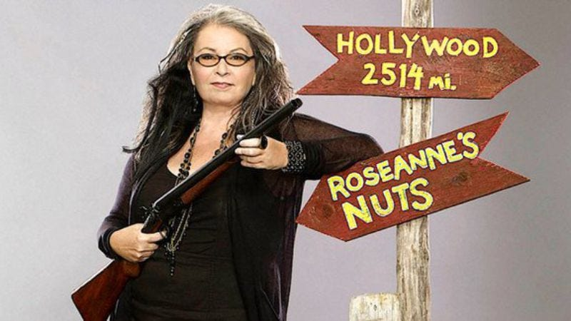 Illustration for article titled The Comedy Central Roast will attempt to find something mock-worthy about Roseanne Barr