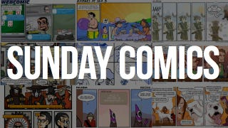 Illustration for article titled Sunday Comics: It's Not Stealing, It's Copying