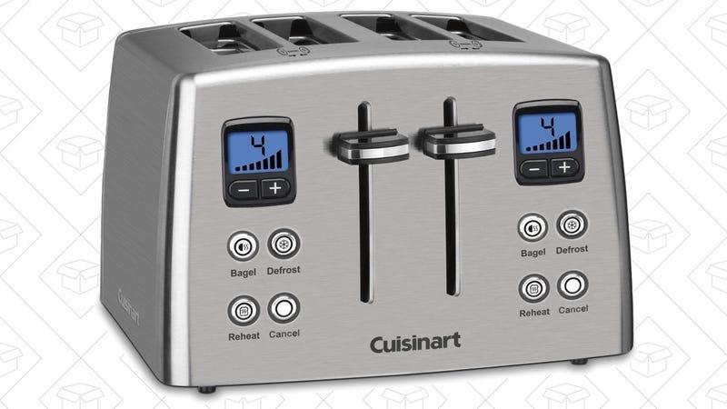 Cuisinart Stainless Steel Toaster, $48