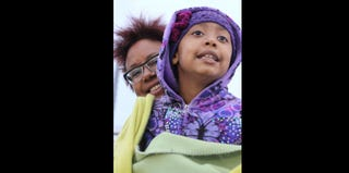 Author Harriette Cole with her daughter, Carrie Chinsee (Akilah Rhone)