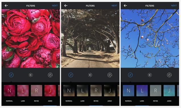 Instagram añade tres nuevo filtros y permite usar emojis en hashtags