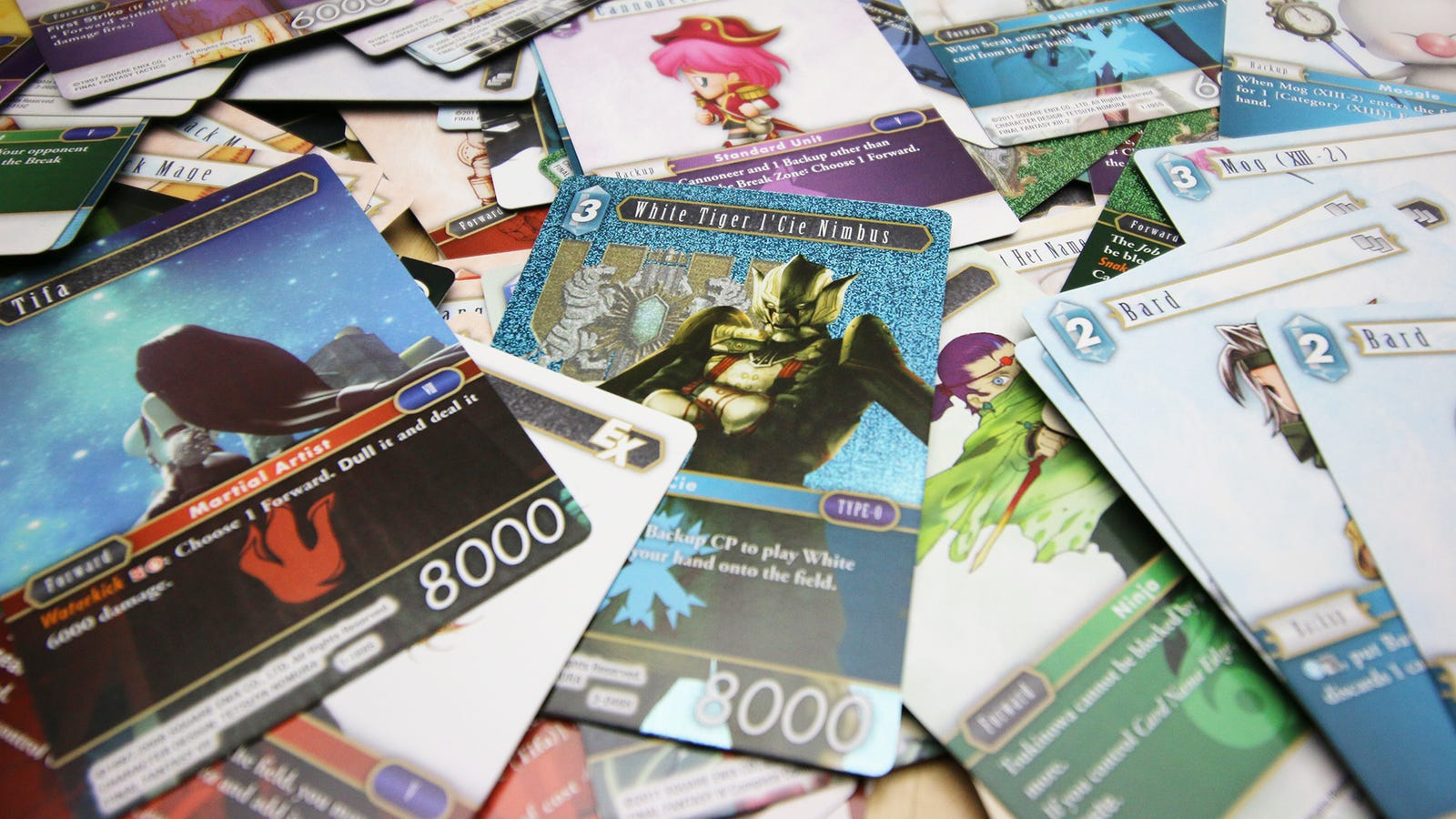 I'm In Love With A Final Fantasy Trading Card Game I've Never Played