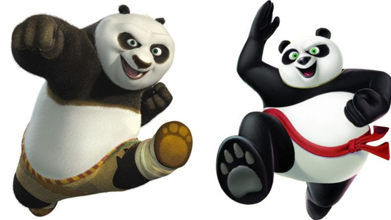 Illustration for article titled Artificial heart: From Chop Kick Panda to Kung Fu Panda 2