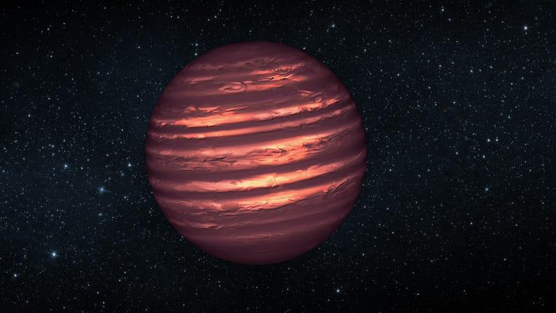 Brown dwarfs—not quite a planet, not quite a star. (NASA / JPL-Caltech)