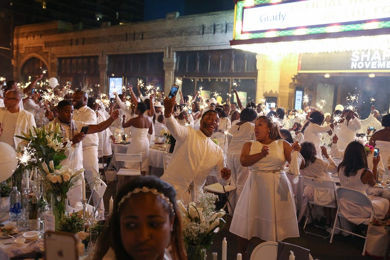 All-white party at Diner En Blanc Atlanta in 2015Kayla Freeman/Courtesy of Alchemy Agency/Moet & Chandon