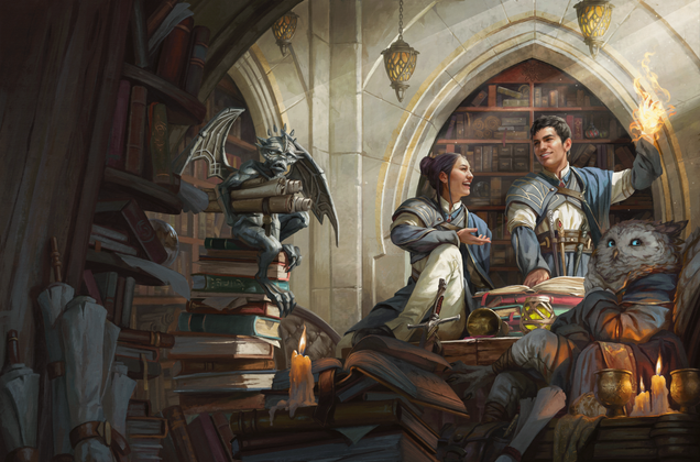 Dungeons & Dragons Returns to Magic: The Gathering With a New Sourcebook For Magic School