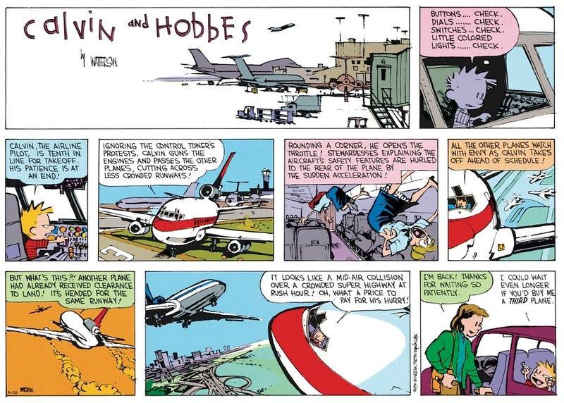 Illustration for article titled Calvin / Planelopnik