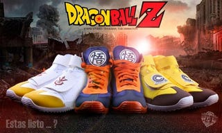 Illustration for article titled Dragon Ball Sneakers Are Real