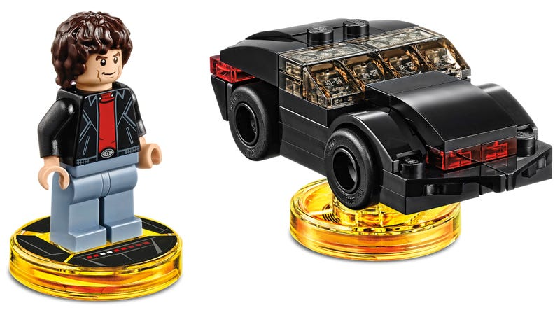 Illustration for article titled Here's Your First Look at Lego Dimensions' Knight Rider