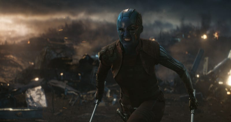 "6c1359ac Avengers: Endgame doesn't earn its big ""girl power"" moment"