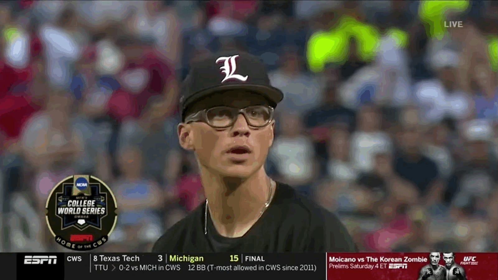 Vanderbilt Responds To Fuck You Barrage From Louisville Pitcher