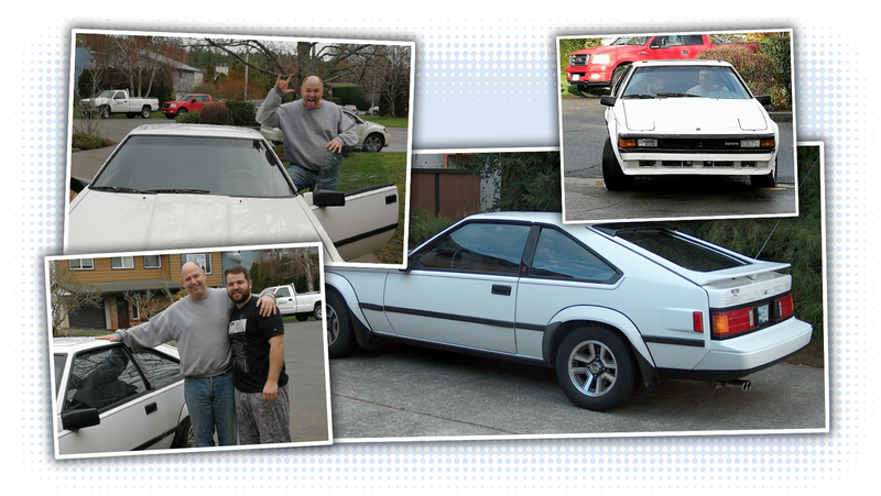 Illustration for article titled Man Surprises His Dad With A Duplicate Of The Dream Supra He Wrecked Over A Decade Ago